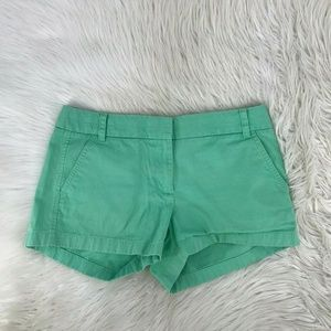 J Crew Women Chino Shorts Size 8 Broken In EF18